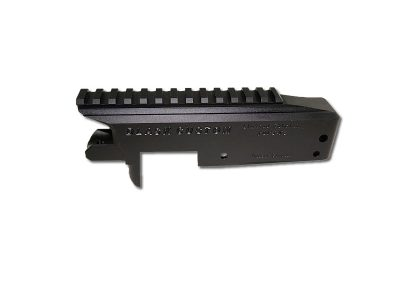 DAR-22 Receiver Black Anodize with Integral Picatinny Rail top