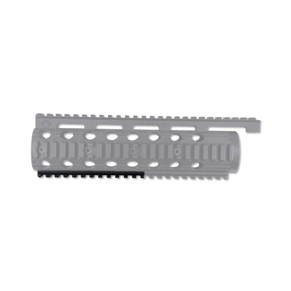 Ruger SR-22 Rails for Factory Stock Handguard, Half Bottom Rail
