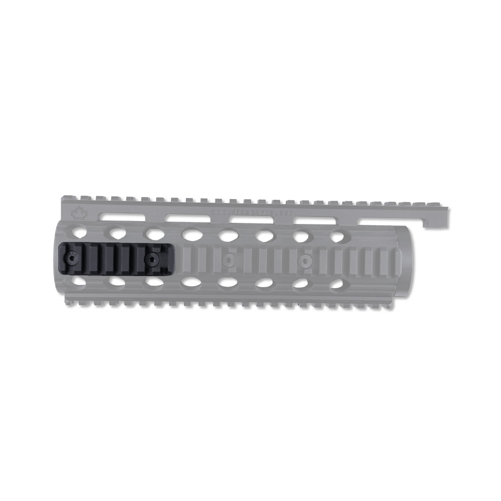 Ruger SR-22 Rails for Factory Stock Handguard, Quarter Side Rail