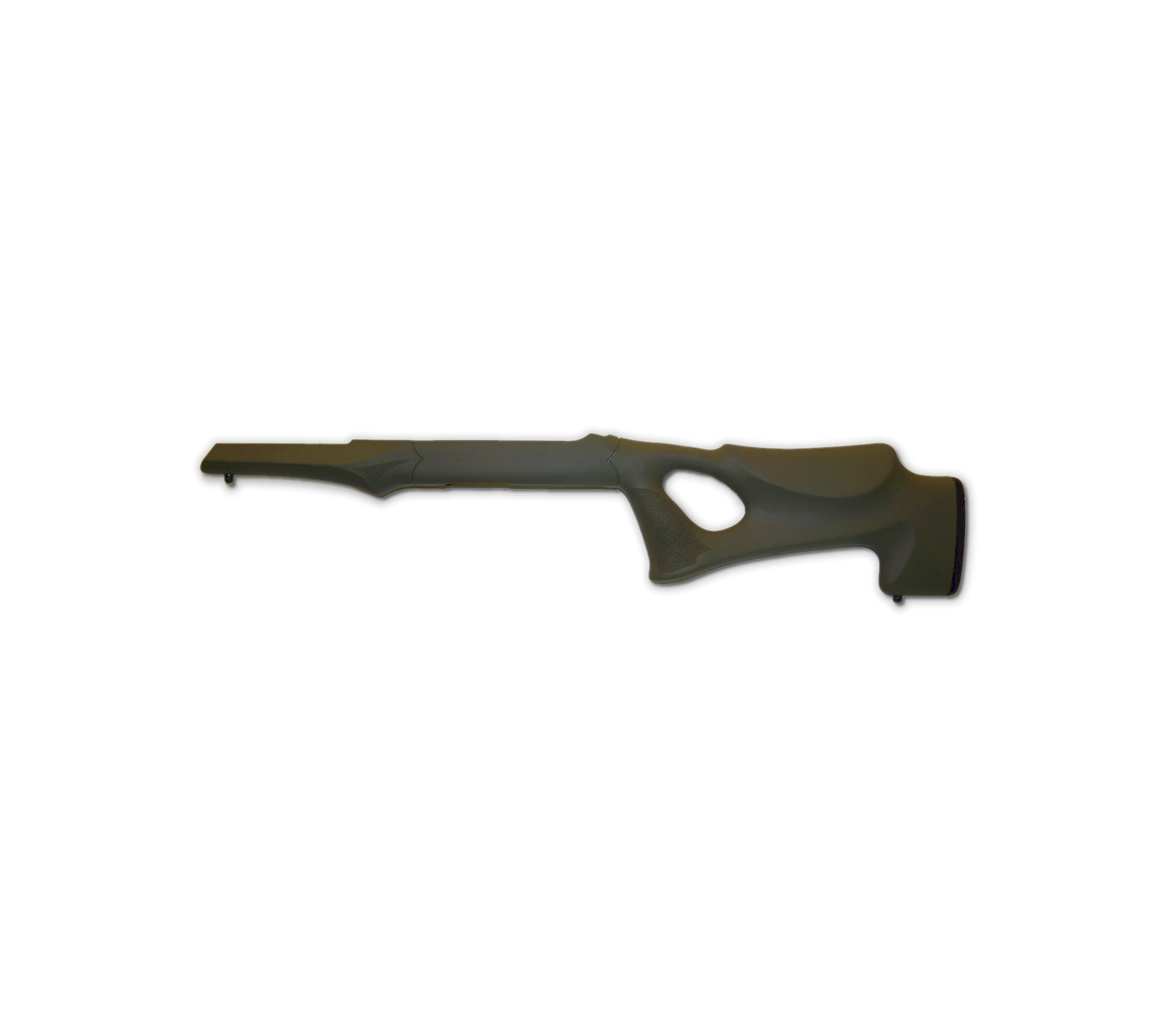 Hogue 10-22 Tactical Thumbhole Stock .920 Barrel Channel OD Green OverMolded Rubber