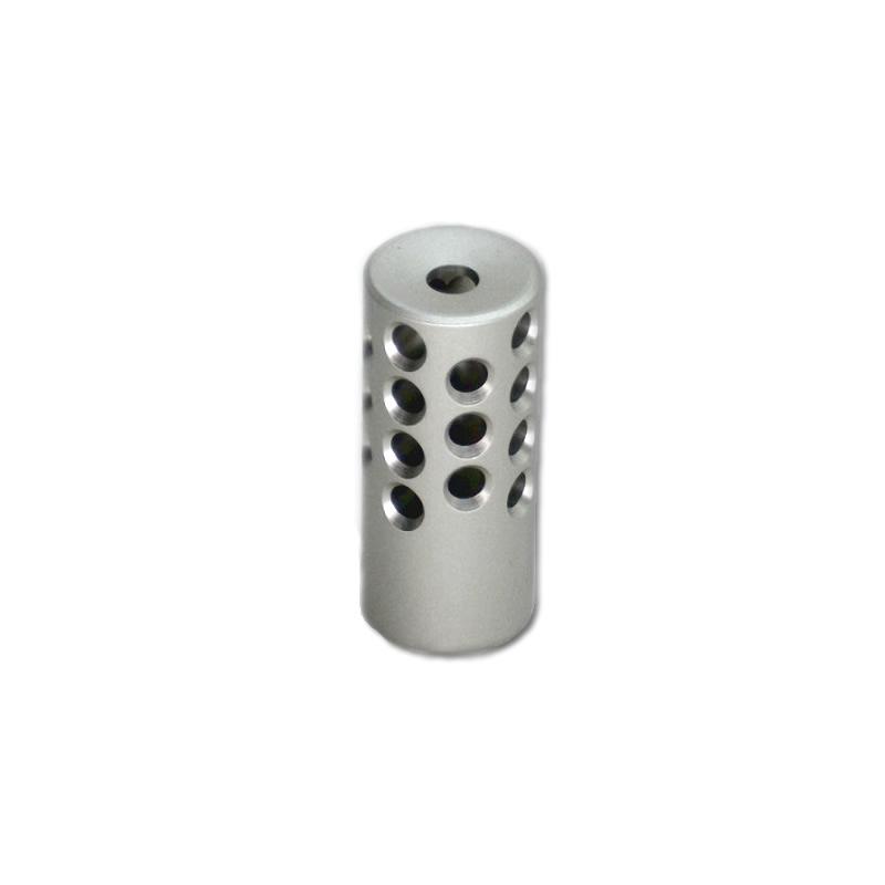 KIDD 22 Muzzle Brake Aluminium Silver Matte